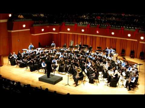 South Forsyth Middle School Band, Teutonic Tales Demon Dance December 11, 2015