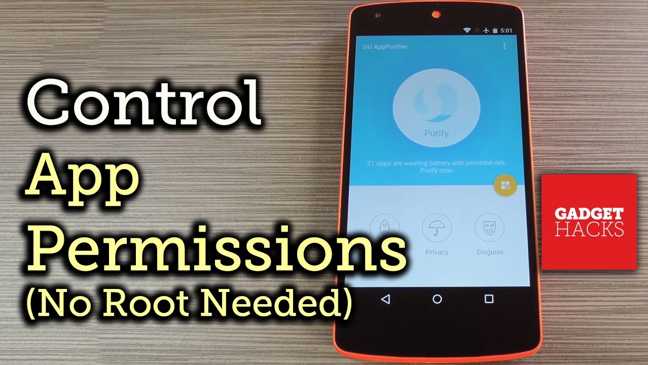 Manage Android App Permissions Without Root Access [How-To]