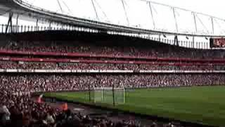 Arsenal anthem Elvis