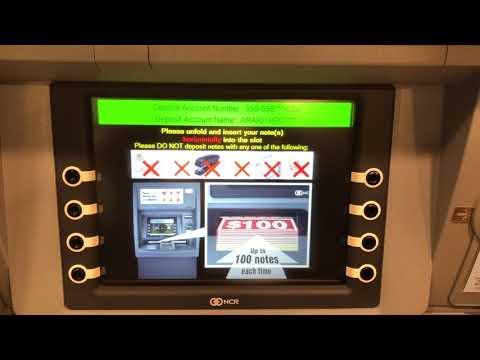 HSBC香港銀行 香港でのATM操作 香港ドル 入金方法