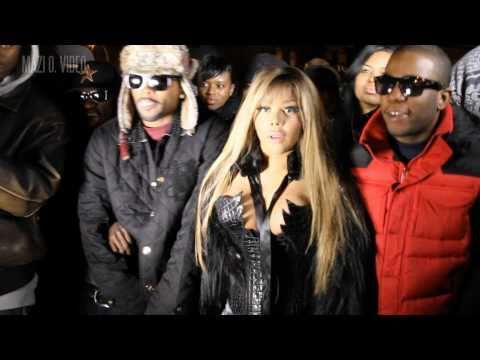 Lil Kim Black Friday Video Shoot