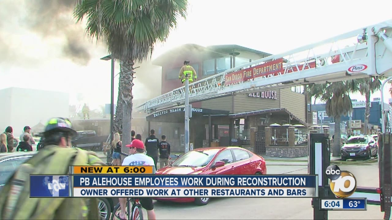 Pb Alehouse Owner Helps Workers Affected By Fire Youtube
