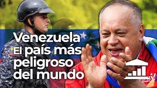 ¿Por qué está DISMINUYENDO la VIOLENCIA en VENEZUELA? - VisualPolitik