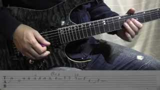 How to play intro -Marco Sfogli- TAB譜あり