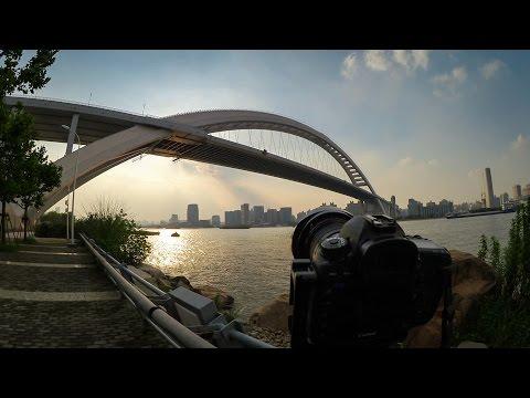 Vlog #29 - Shanghai's Biggest Bridge at Sunset - Aug.3.2014