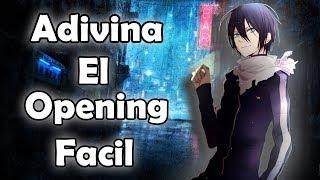ADIVINA EL OPENING || ANIME || NIVEL : FACIL || Richi-Kun