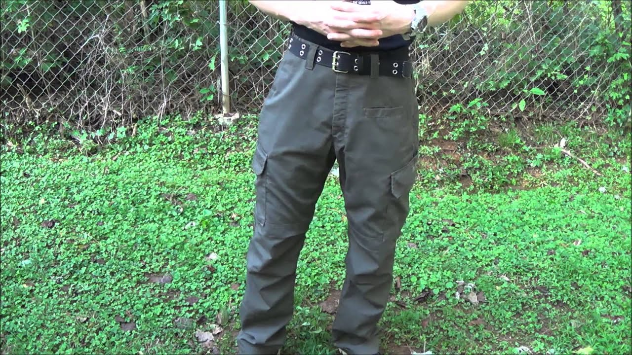 La Police Gear Urban Ops Tactical Pants Review Youtube