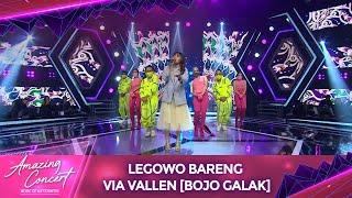 Legowo Bareng Via Vallen [BOJO GALAK] | Amazing Concert GTV
