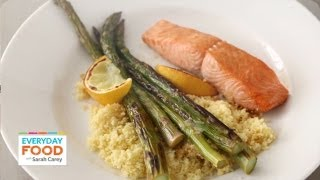 Broiled Salmon With Lemon And Soy - Everyday Food With Sarah Carey