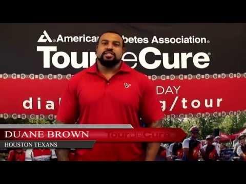 Duane Brown - 2014 Dignity Memorial Houston Tour de Cure