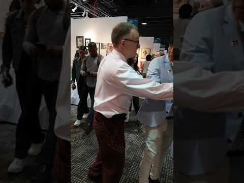 MEET & GREET OF Tommy Aquino @ the NYC Art Expo April 2019!😊👍👌