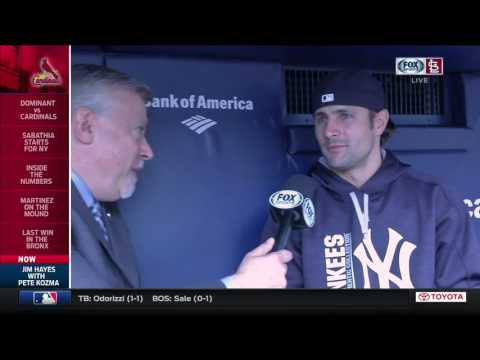 Pete Kozma talks about the similarities between the Cardinals and Yankees organizations