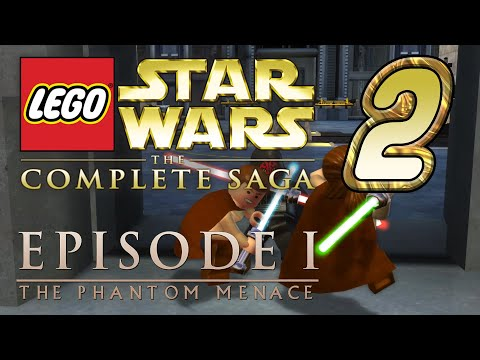 """""""Lego Star Wars: The Complete Saga"""" Co-Op [THE PHANTOM MENACE #2] from YouTube · Duration:  17 minutes 42 seconds"""