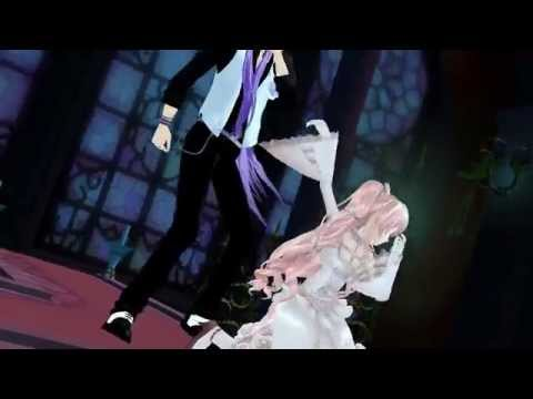 [MMD] Rose Luka & Gakupo - Love Bites