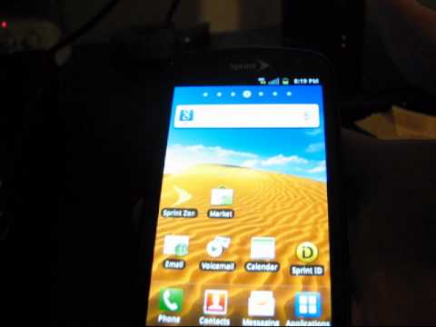 Android 2.3 Gingerbread on the Samsung Epic 4G!