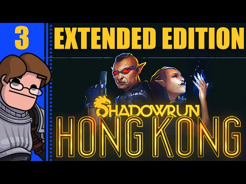 Let's Play Shadowrun Hong Kong: Shadows of Hong Kong Part 3 - The Impound Lot