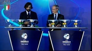 Europei Under 21 2019: ecco i gironi