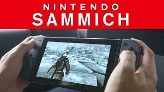 "NINTENDO SWITCH PARODY - ""The Nintendo Sammich!"""