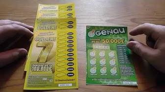Goldene 7 Rubbeln und gewinnen