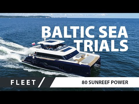 The ultimate luxury 80 Sunreef Power yacht in the Baltic
