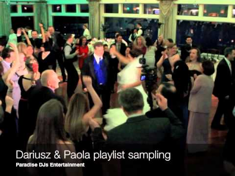 Paradise DJs Entertainment Paola and Dariusz at Clarks Landing Yacht Club, Pt Pleasant, NJ)