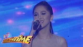 It's Showtime: TNT Grand Finalist Marielle Montellano sings Celine Dion Medley