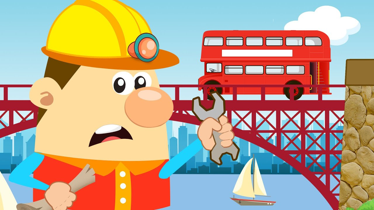 London Bridge Is Falling Down Nursery Rhyme With Lyrics Song