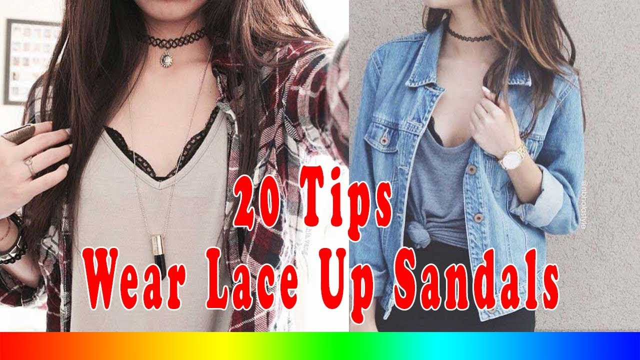8abd46dbcbf 20 Style Tips On How To Wear Chokers - YouTube