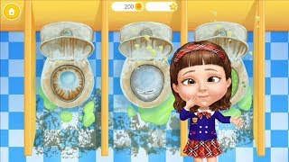 Sweet Baby Girl Cleanup Game for Kids, School Cleaning Game for Kids