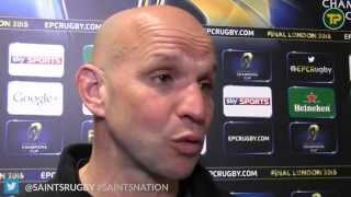 CLERMONT 37 SAINTS 5 Mallinder reaction