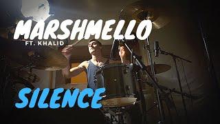 Marshmello ft. Khalid - Silence - Drum Cover