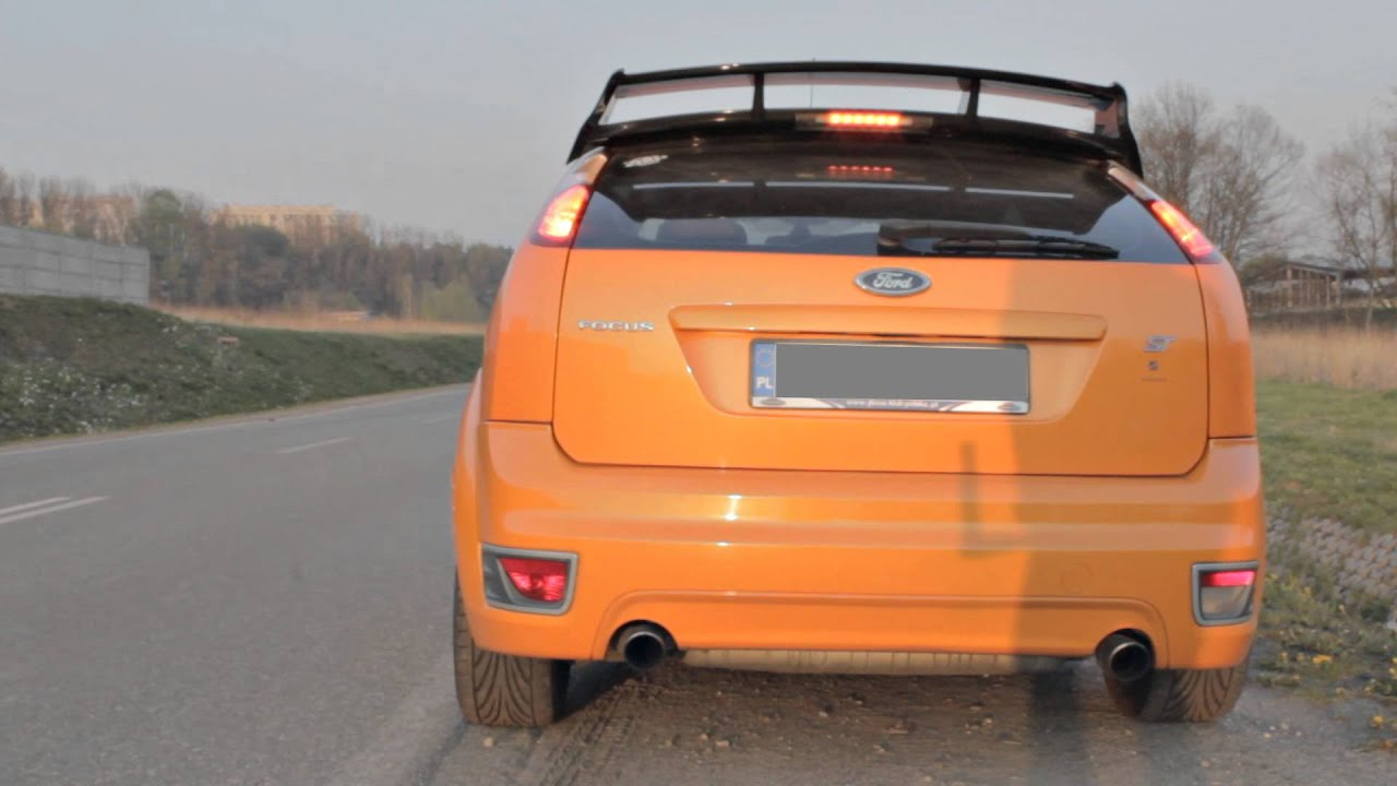 2006 ford focus st xr5 mk2 stock exhaust rev sound. Black Bedroom Furniture Sets. Home Design Ideas