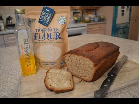 How to Bake Basic Gluten Free Tiger Nut Bread Loaf: Cooking with Kimberly