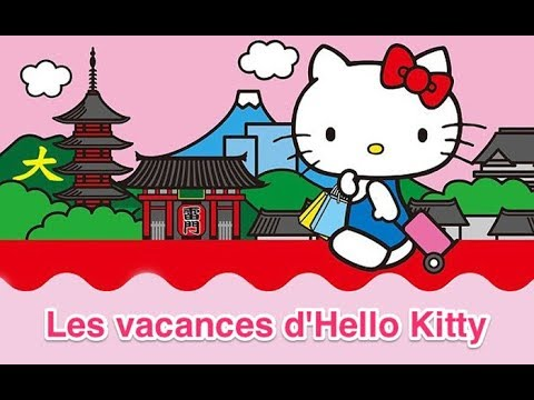 Elle va où en vacances Hello Kitty ?