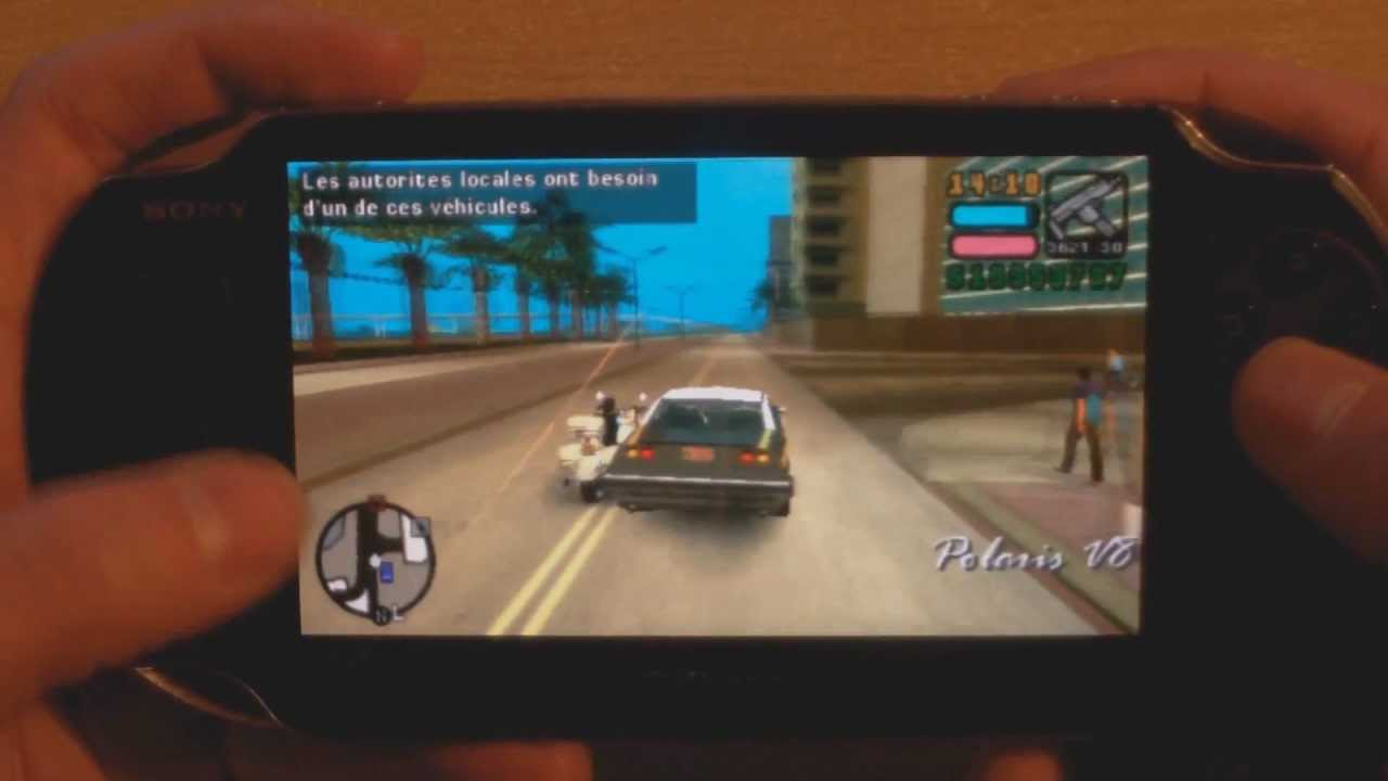 PS VITA GTA Grand Theft Auto Gameplay Vice City Stories ...