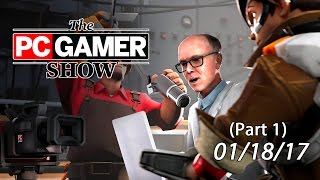 The PC Gamer Show - Valve news, and a special guest from The Behemoth!