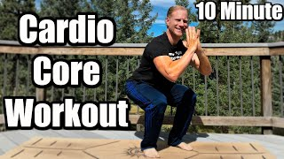 10 Minute Killer Cardio Workout And Core Workout Sean Vigue Fitness