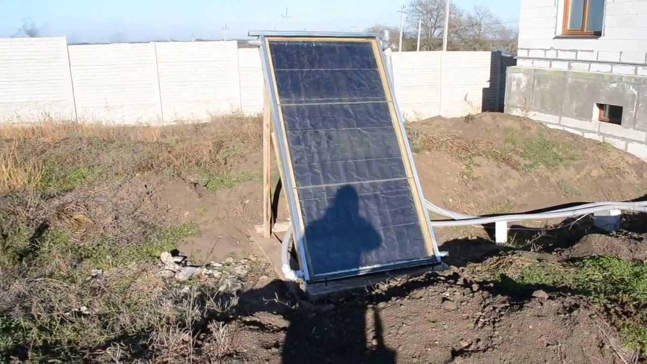 Солнечные коллектора дома своими руками фото 860