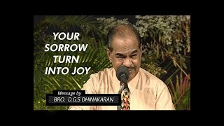 Your Sorrow Turn Into Joy (Part 4) | Dr. D.G.S. Dhinakaran