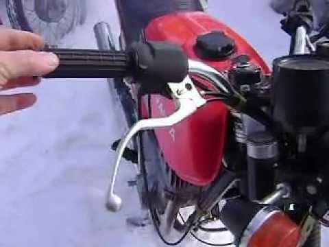 Новый Мотор к ЯВЕ. - YouTube