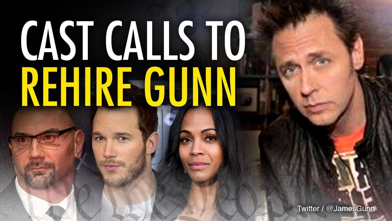 """James Gunn Update: James Gunn UPDATE: """"Guardians..."""" Cast Defends Director"""