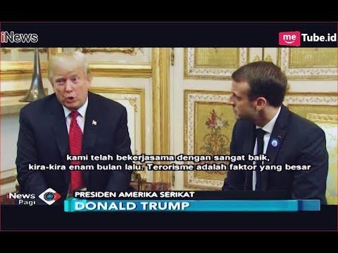 Trump dan Macron Bahas Isu Terorisme di Paris, Prancis - iNews Pagi 12/11 Mp3