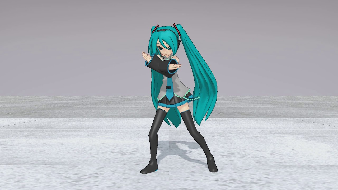 [MMD] FBX to MMD - Test