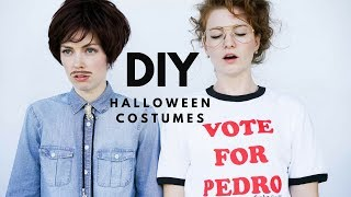 DIY Vote for Pedro and Napoleon Dynamite Halloween Costumes