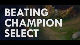 BEATING CHAMPION SELECT! - Win More Games   Gangplank Gameplay   League of Legends