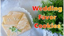 Wedding favor cookies. My little bakery.