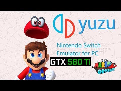Super Mario Odyssey: Cascade Kingdom In Yuzu Canary 2474 | GTX 560 Ti | Nintendo Switch Emulator