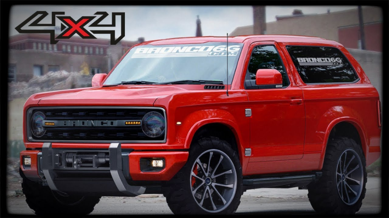 New ford bronco 2018