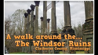 A walk around the Windsor Ruins - Claiborne County, MS