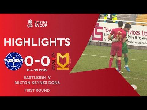 Eastleigh Milton Keynes Goals And Highlights